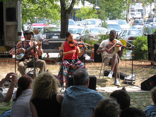 Carolina Chocolate Drops @ the Carrboro Music Festival, 9-24-06