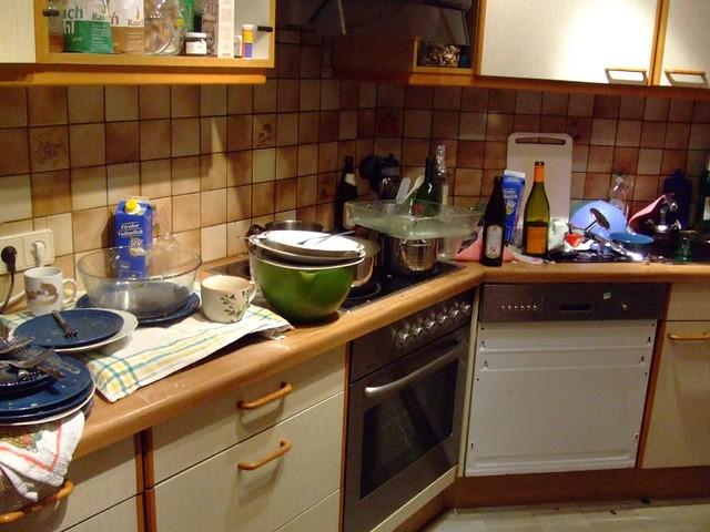 Kitchen Mess Flickr Sharing