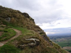 Winding path to the peak