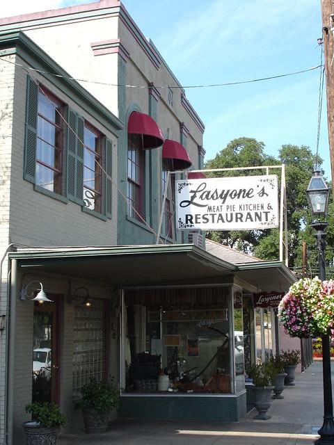 Lasyone's Meat Pie Kitchen & Restaurant, Natchitoches LA