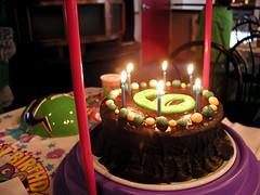 all-vegan birthday cake!