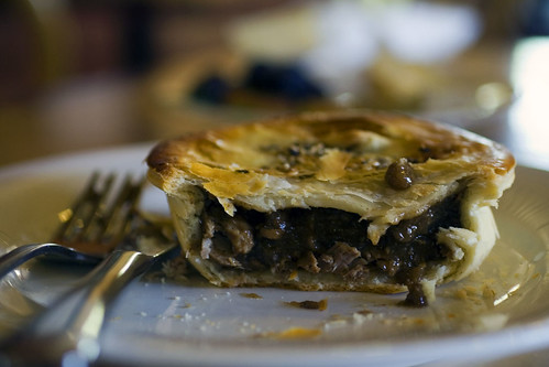 Lamb and rosemary meat pie