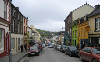 Shot from the top of Main Street, Dingle, County Kerry, Ireland.