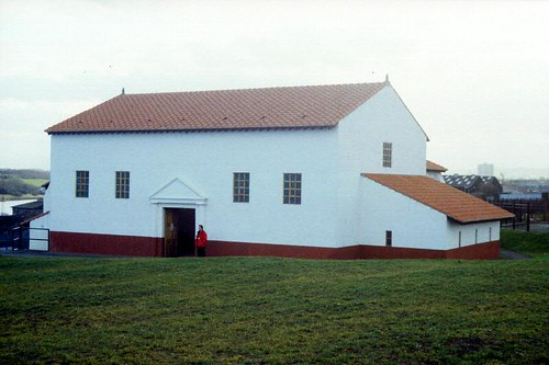 Reconstructed bath-house
