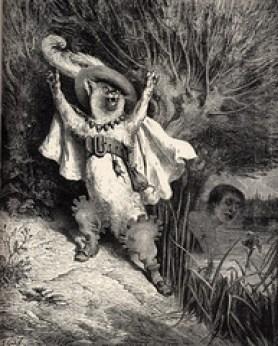Puss in Boots - Le Chat Botté, par Gustave Doré 1697
