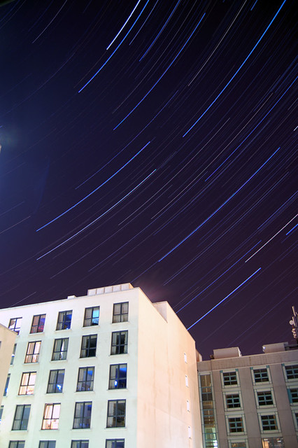Star Trails over Limerick