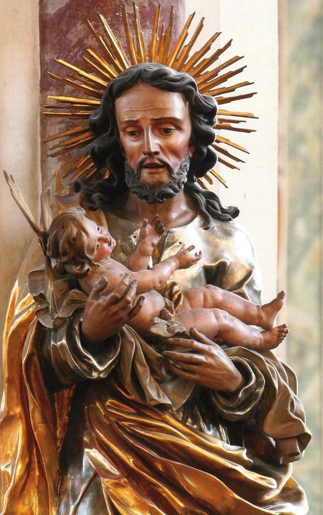 Saint Joseph Statue, Hall, Tirol