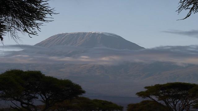 Kilimanjaro, last snow!!!