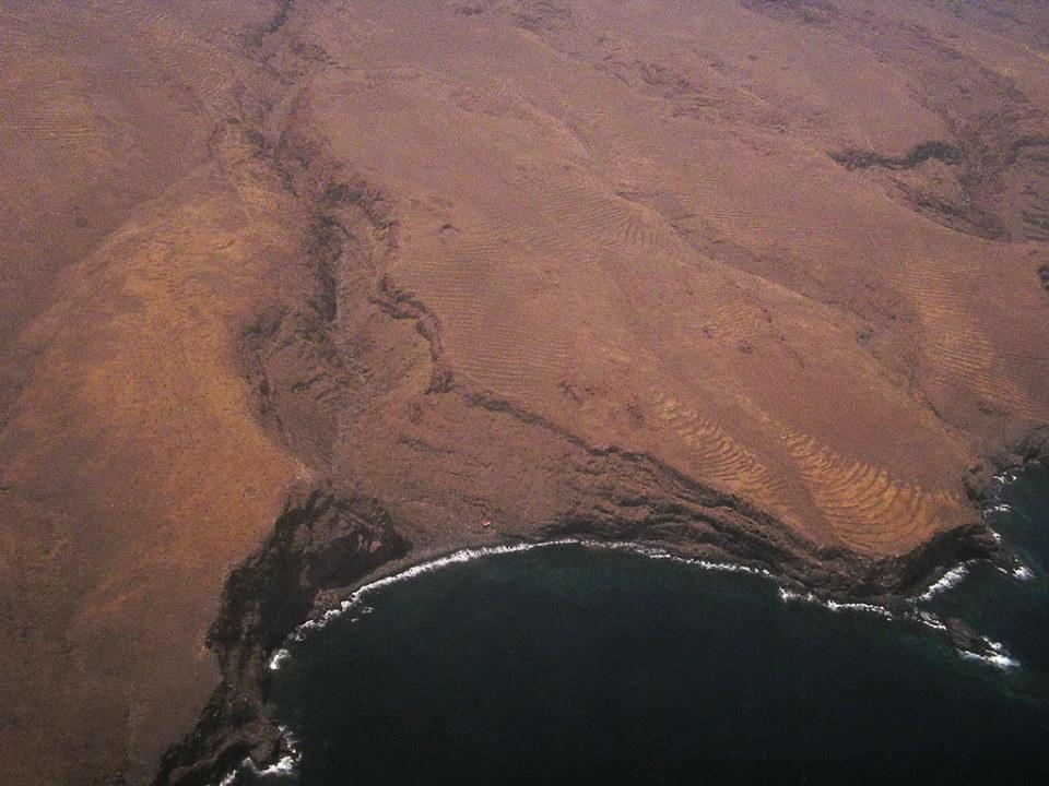 vista aerea de La Gomera 05