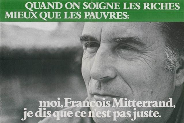 Affiche de campagne de François Mitterrand en 1981