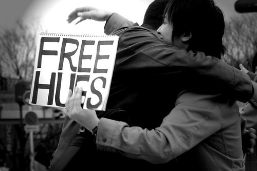 sometimes, a hug is all what we need