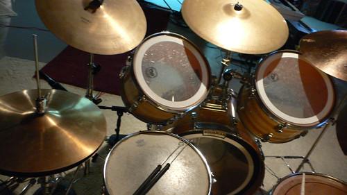 Nuzzo's drumset