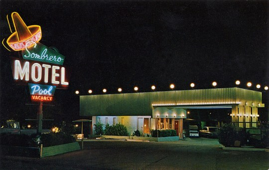 Sombrero Motel - Las Vegas, Nevada U.S.A. - date unknown