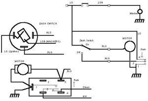 3 Speed Wiper Motor Wiring Diagram  Auto Electrical Wiring Diagram