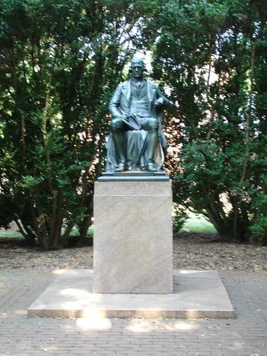 Statue at UVA