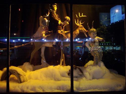 Christmas Window Display by lazzarello