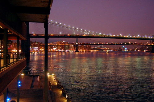 Bridges across the East River by Everita