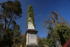 obelisk and aeroplane