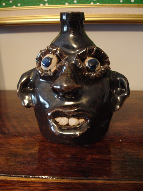 Jerry Brown Face Jug