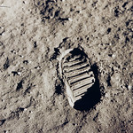 Stepping Onto the Moon's Surface