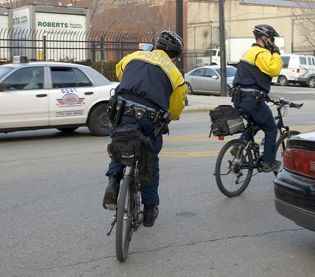 Cops on Bikes