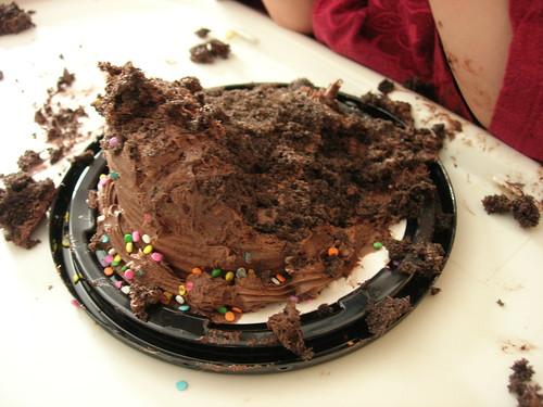 Smashed cake