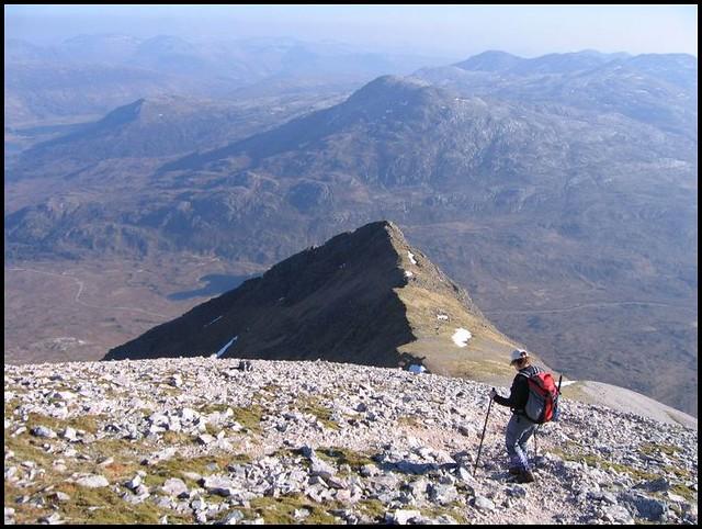Descending to Glen Torridon