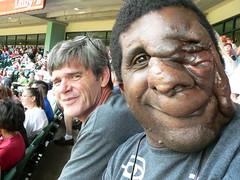 Reggie's first baseball game