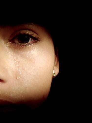 Tear...