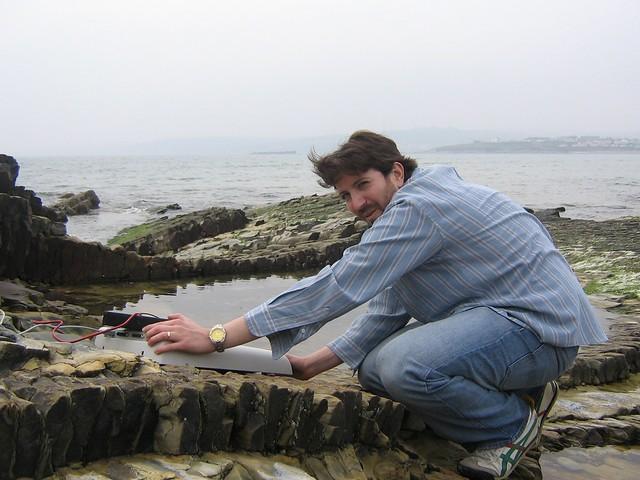 scanning rocks, garrettstown strand