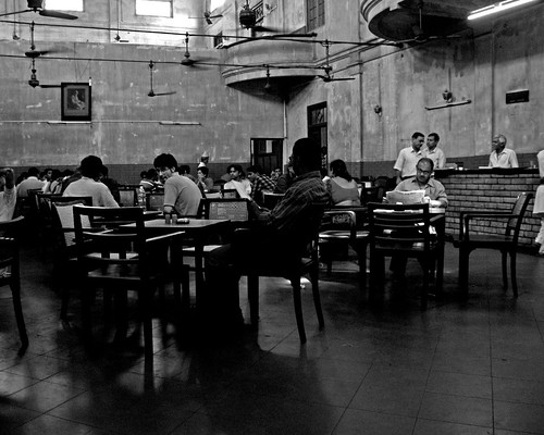 Calcutta Coffee House by lecercle