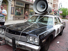 Universal Studios - The Blues Brothers' car