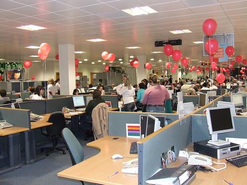 Comic Relief Call Centre