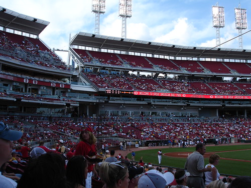 Great American Ball Park in Cincinnati