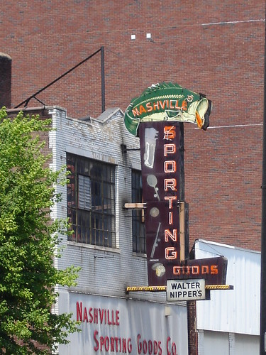 Nashville Sporting Goods Neon Sign