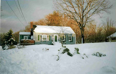Wintertime at Crow Cottage