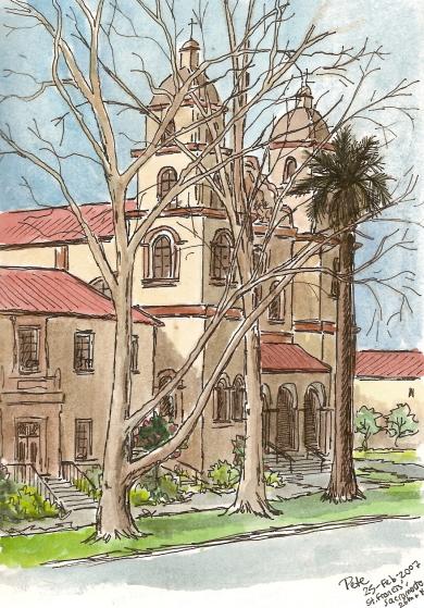 st francis church & friary, midtown sacramento