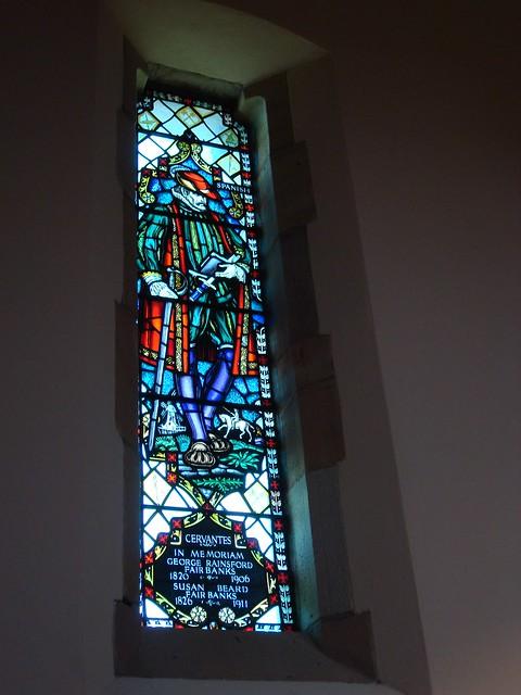 Cervantes, All Saints Chapel, Sewanee TN