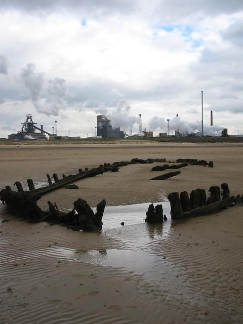 Bran Sands Shipwreck 3