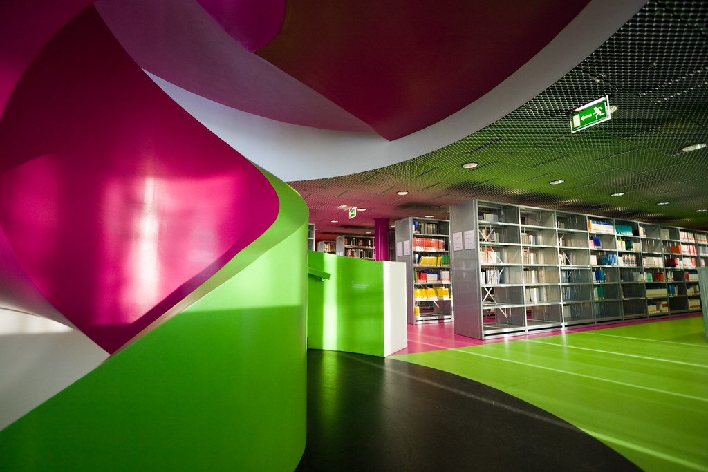 IKMZ (Library) BTU Cottbus (inside)
