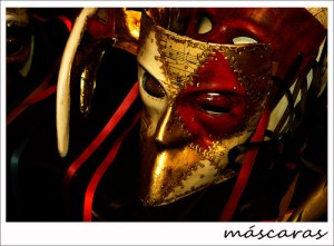 máscaras venecianas - Manuel Martín Vicente