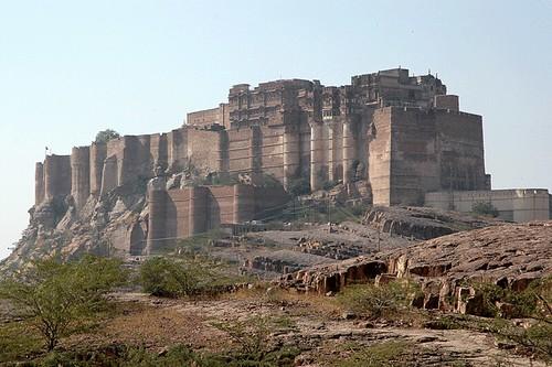 Mehrangarh Fort in Jodhpur, India