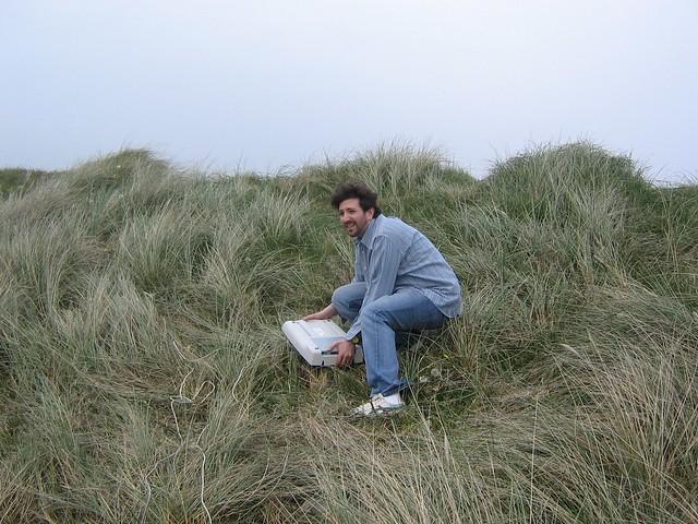 scanning sand dunes, garrettstown strand