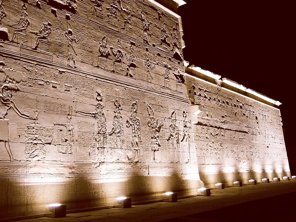 Templos de File Asuan Aswan Egipto 09