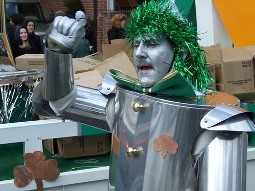 Tin Man in St. Patrick's Day Parade