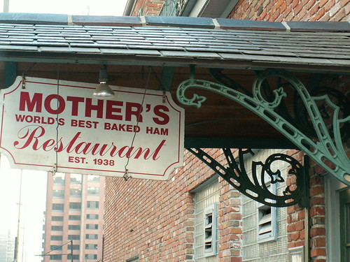 Signs: Mother's Restaurant