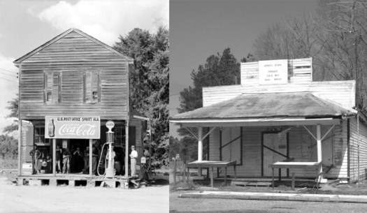 Sprott Store, Then & Now - Sprott AL