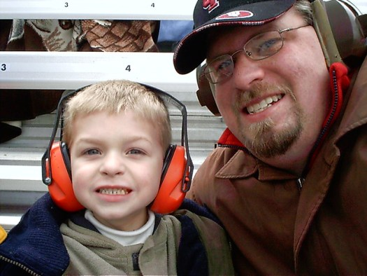 Aiden & Daddy - self portrait