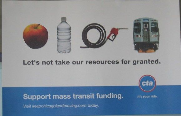 CTA: Let's not take our resources for granted