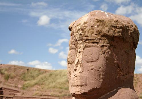 Atlante from Tiwanaku